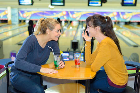 gossip in the bowling center