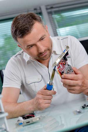 looker: soldering iron