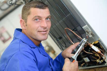 appliance: busy appliance technician