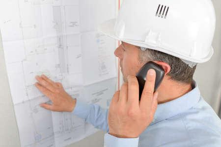 serf: architect on phone