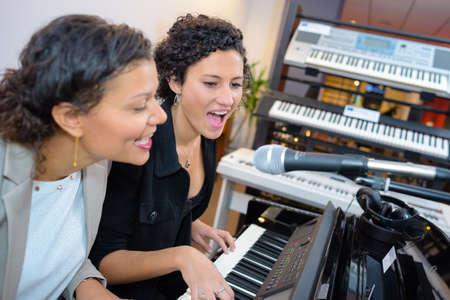 duet: duet and a keyboards