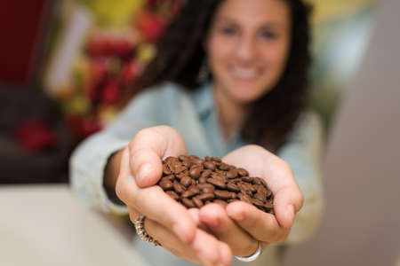 moderation: the coffee beans