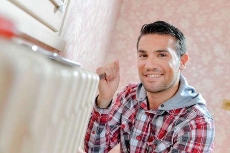 Repairing a radiator