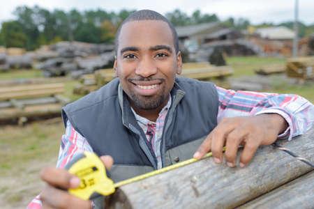 measuring a lumber