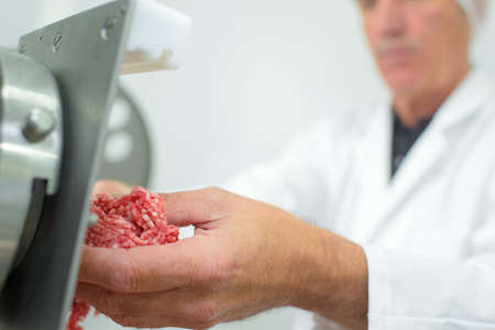 lean machine: picking the meat from the grinder