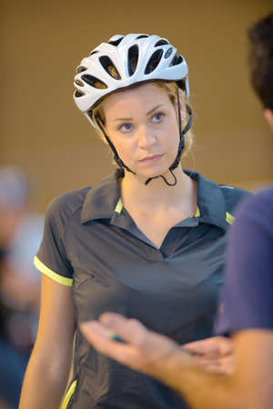 eliminating a cyclist