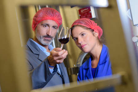 wine factory worker