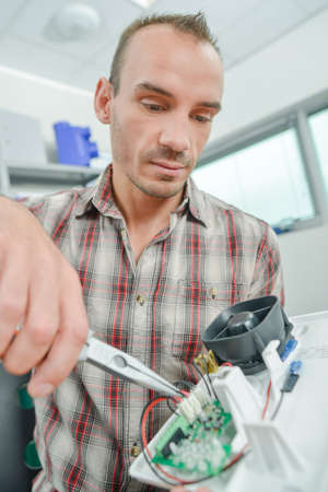 pliers: electrician Stock Photo