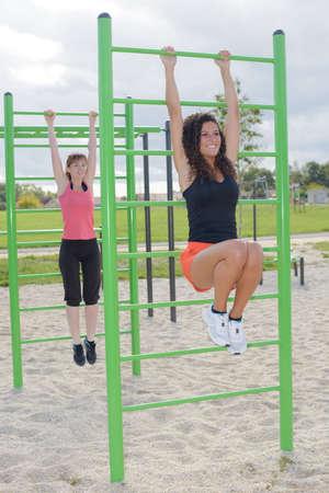 oudoor: doing fitness outdoors