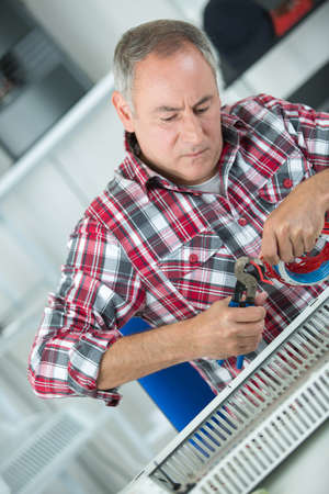 adjustment of heating radiator