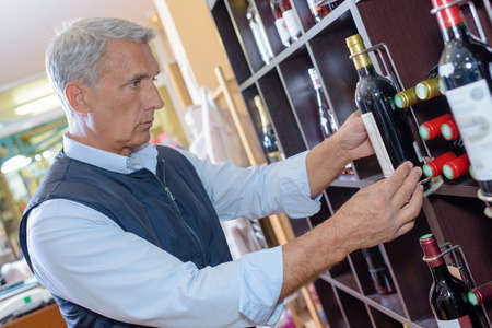moderation: buying wine in the shop