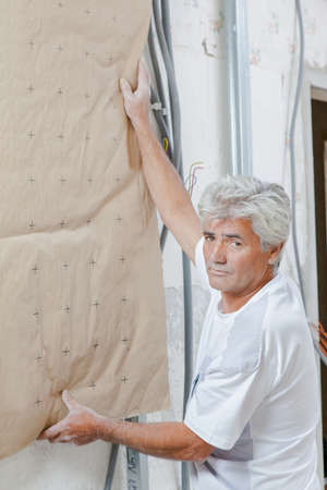 insulate: Insulating a wall