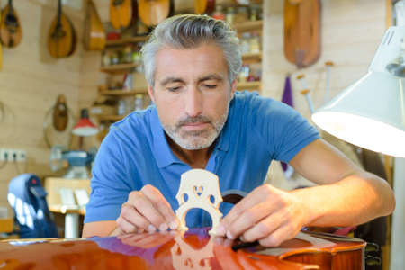 business pitch: fitting the viola bridge