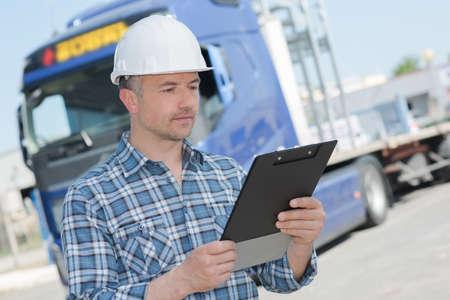 receiving a logistic order