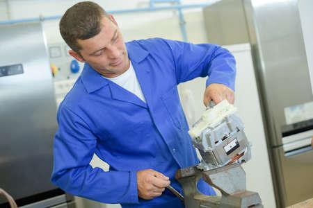 appliance: appliance assembling work