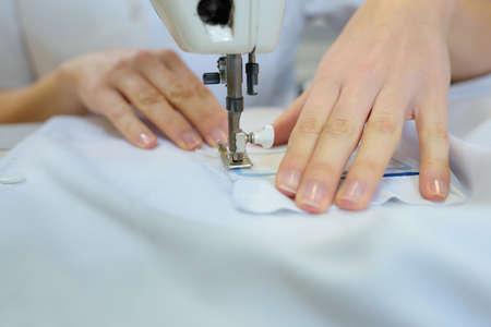 coser: Trabajador, Coser, tela