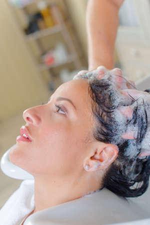 relaxation through shampoo