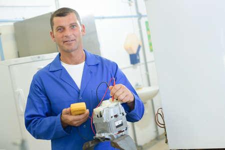 electromechanical: maintenance department worker