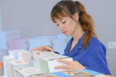 印刷労働者