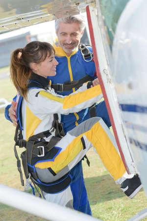 aboard: aboard an aircraft
