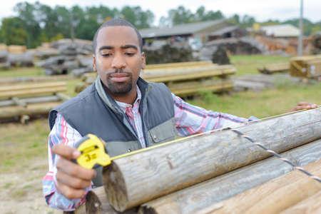 measuring the lumber