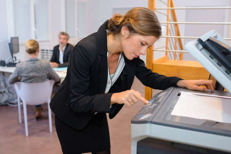 photocopy: making a photocopy
