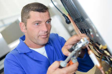 appliance: fixing appliance Stock Photo
