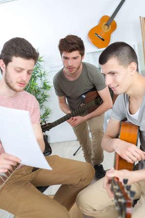 music lyrics: Componiendo una canción