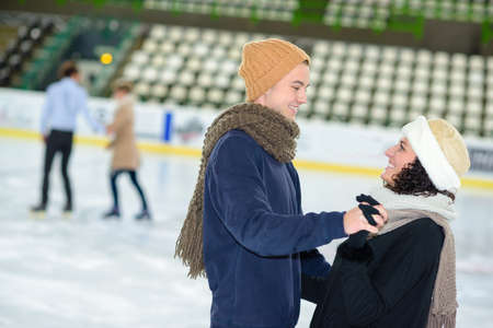dating on the ice rink