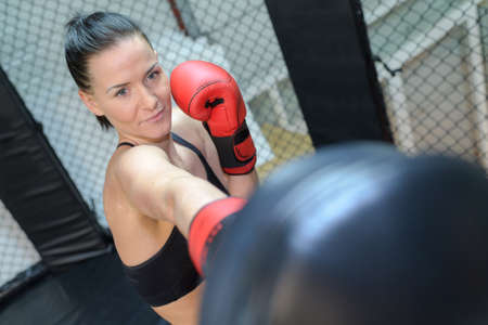 the female boxer