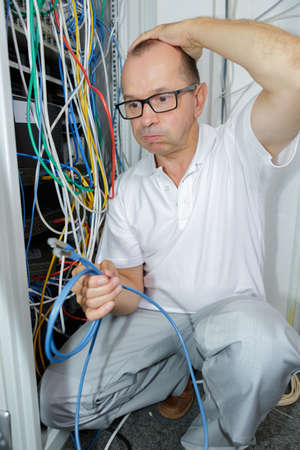 unsolved: electrician trying to find the right cable