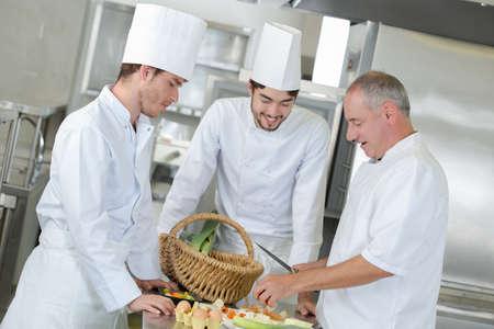 Cours de cuisine des meilleurs Banque d'images