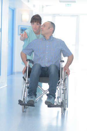 the disabled facility worker
