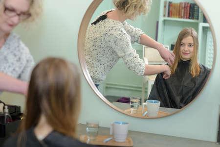 haircutting: womens haircut hairdresser beauty salon
