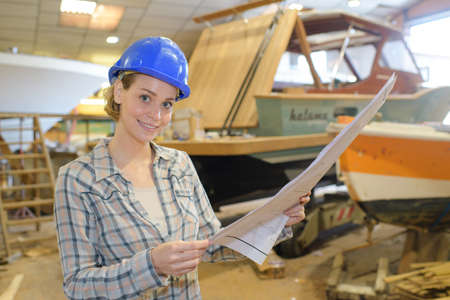 shipbuilding: studying the boats blueprint