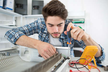 finding the defective part of an appliance