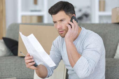 customer calling customer service