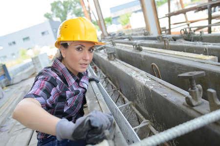 Vertrouwen vrouwelijke ingenieur
