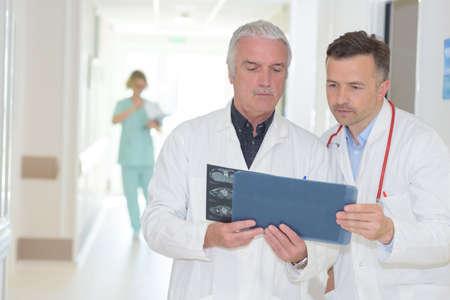 doctors at the hallway