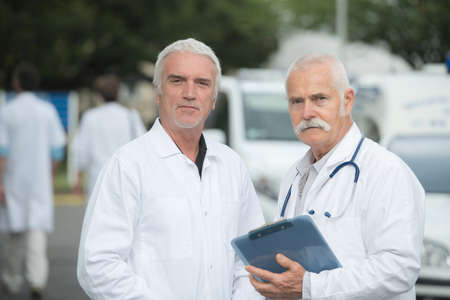 doctors in the car park