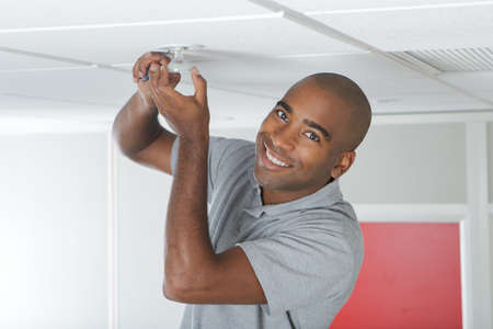 changing the light bulb