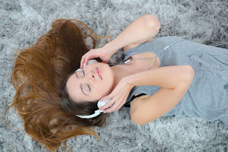 model of a headset Stock Photo