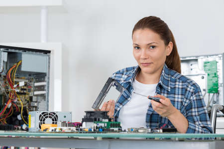 assembling the hardware of the computer