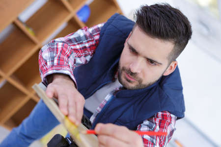 cabinetry: the furniture designer Stock Photo