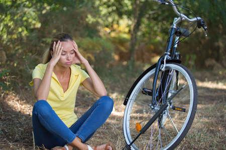 break from biking