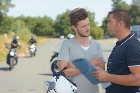 curve road: motorbikes