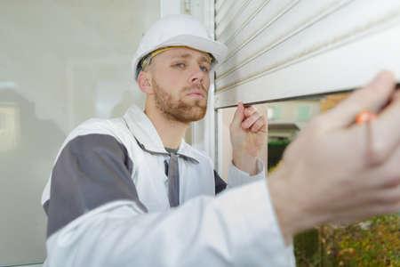 bracket: builder mounting vertical blinds