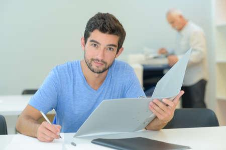 man doing an examination Reklamní fotografie