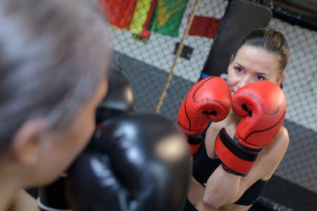 sportsmanship: boxers of womens division