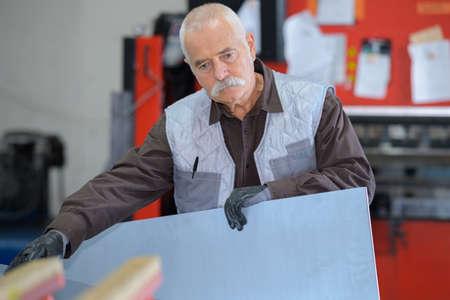 sheet fabrication worker
